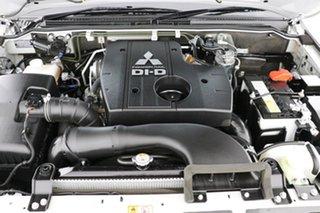 2018 Mitsubishi Pajero NX MY19 GLX LWB (4x4) 7 Seat Silver 5 Speed Auto Sports Mode Wagon