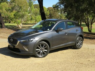 2016 Mazda CX-3 DK2W7A sTouring SKYACTIV-Drive Grey 6 Speed Sports Automatic Wagon