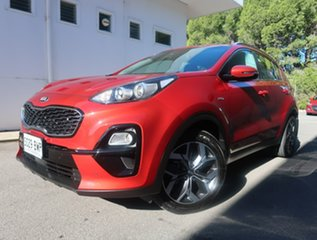 2018 Kia Sportage QL MY19 Si AWD Premium Red 8 Speed Sports Automatic Wagon.