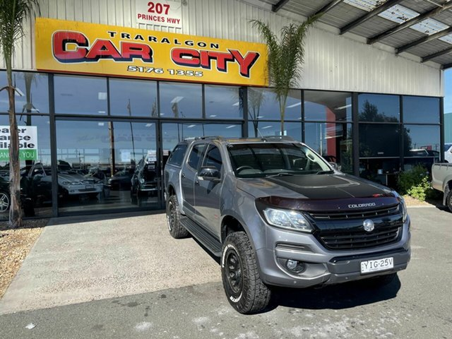 Used Holden Colorado RG MY18 Z71 (4x4) Traralgon, 2017 Holden Colorado RG MY18 Z71 (4x4) Grey 6 Speed Automatic Crew Cab Pickup