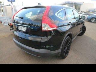 2013 Honda CR-V 30 MY14 VTi (4x2) Black 6 Speed Manual Wagon