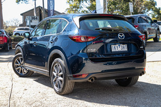 2017 Mazda CX-5 KF4WLA GT SKYACTIV-Drive i-ACTIV AWD Deep Crystal Blue 6 Speed Sports Automatic.