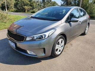2016 Kia Cerato YD S Grey Sports Automatic Sedan.
