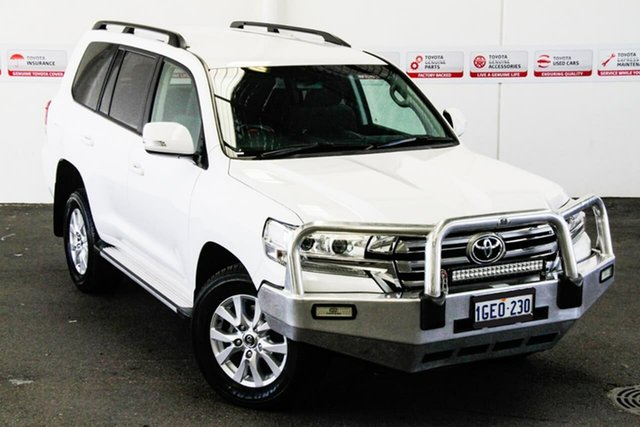 Pre-Owned Toyota Landcruiser VDJ200R MY16 GXL (4x4) Rockingham, 2016 Toyota Landcruiser VDJ200R MY16 GXL (4x4) Glacier White 6 Speed Automatic Wagon