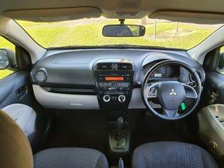 2013 Mitsubishi Mirage LA ES White Constant Variable Hatchback