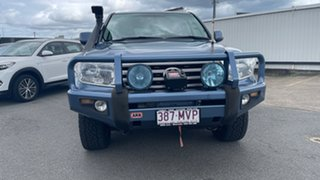 2010 Toyota Landcruiser VDJ200R MY10 VX Pacific Blue 6 Speed Sports Automatic Wagon.