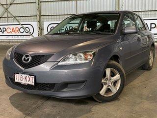 2008 Mazda 3 BK10F2 MY08 Maxx Sport Grey 4 Speed Sports Automatic Hatchback.