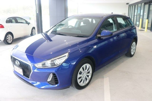 Used Hyundai i30 PD.3 MY20 Go Augustine Heights, 2019 Hyundai i30 PD.3 MY20 Go Intense Blue 6 Speed Sports Automatic Hatchback