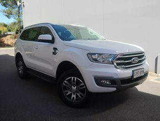 2018 Ford Everest UA II 2019.00MY Trend White 10 Speed Sports Automatic SUV.