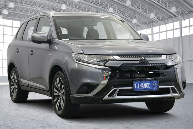 Used Mitsubishi Outlander ZL MY18.5 ES AWD Victoria Park, 2018 Mitsubishi Outlander ZL MY18.5 ES AWD Grey 6 Speed Constant Variable Wagon