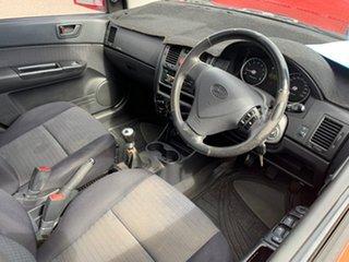 2007 Hyundai Getz TB Upgrade 1.6 Red 5 Speed Manual Hatchback