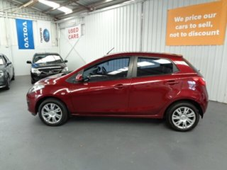 2011 Mazda 2 DE10Y1 MY11 Neo Red 4 Speed Automatic Hatchback