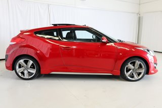 2015 Hyundai Veloster FS4 Series II SR Coupe D-CT Turbo Red 7 Speed Sports Automatic Dual Clutch.