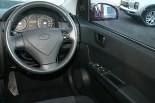 2010 Hyundai Getz TB MY09 SX Red 4 Speed Automatic Hatchback