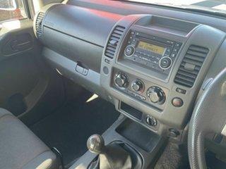 2011 Nissan Navara D40 RX (4x4) Silver 6 Speed Manual Cab Chassis
