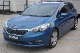 2013 Kia Cerato YD MY14 S Blue 6 Speed Manual Hatchback.