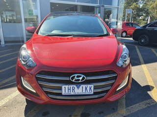 2016 Hyundai i30 GD5 Series II MY17 SR Premium Red 6 Speed Sports Automatic Hatchback.