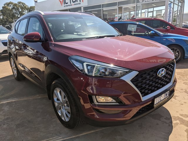 Used Hyundai Tucson TL3 MY19 Active X 2WD Epsom, 2019 Hyundai Tucson TL3 MY19 Active X 2WD Red 6 Speed Automatic Wagon