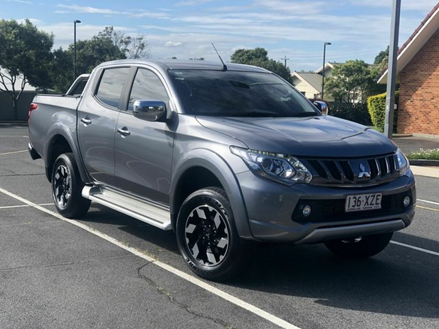 Used Mitsubishi Triton MQ MY18 Exceed Double Cab Chermside, 2018 Mitsubishi Triton MQ MY18 Exceed Double Cab Grey 5 Speed Sports Automatic Utility