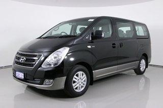 2015 Hyundai iMAX TQ MY13 Black 4 Speed Automatic Wagon.