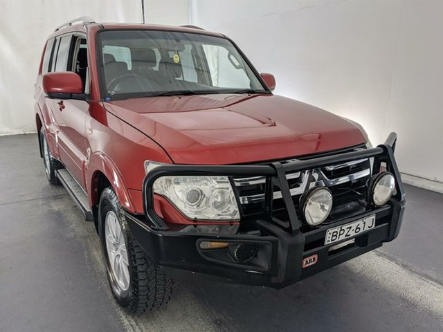 Used Mitsubishi Pajero NS GLX Maryville, 2008 Mitsubishi Pajero NS GLX Red 5 Speed Sports Automatic Wagon