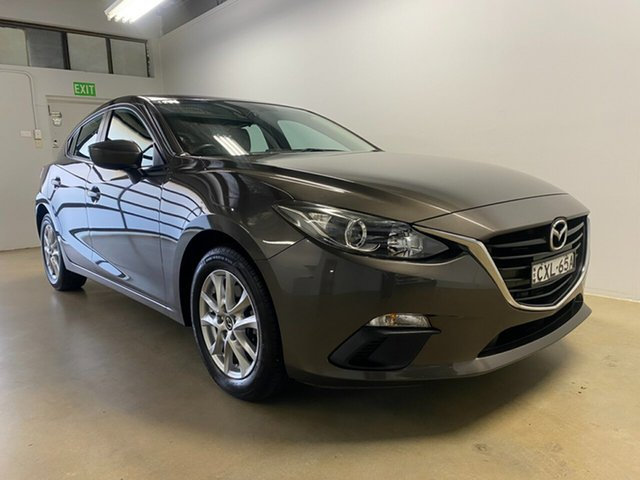 Used Mazda 3 BM Maxx Phillip, 2014 Mazda 3 BM Maxx Grey 6 Speed Automatic Hatchback