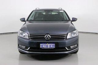 2015 Volkswagen Passat 3C MY15 130 TDI Highline Grey 6 Speed Direct Shift Wagon.