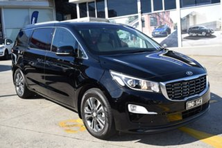 2020 Kia Carnival YP MY20 SLi Black/Grey 8 Speed Sports Automatic Wagon.