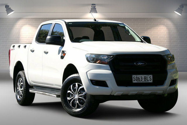 Used Ford Ranger PX MkII XL Hi-Rider Nailsworth, 2016 Ford Ranger PX MkII XL Hi-Rider White 6 Speed Sports Automatic Utility