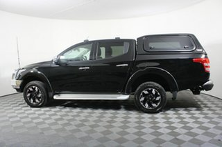 2017 Mitsubishi Triton MQ MY17 Exceed Double Cab Black 5 Speed Sports Automatic Utility
