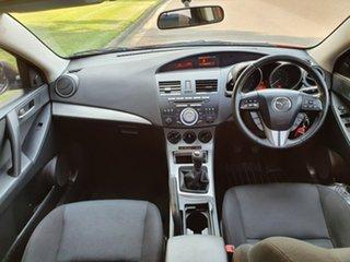 2009 Mazda 3 BK Series 2 Maxx Sport Red Manual Sedan