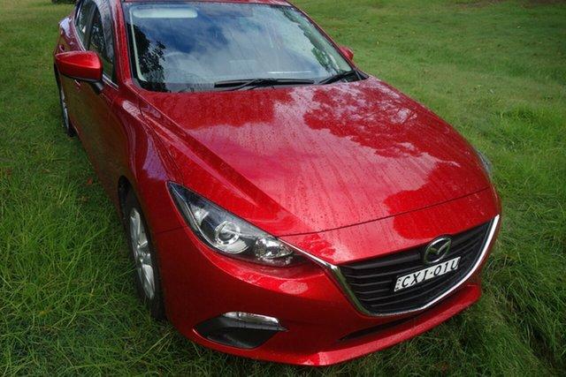 Used Mazda 3 BM5278 Maxx SKYACTIV-Drive East Maitland, 2014 Mazda 3 BM5278 Maxx SKYACTIV-Drive Red 6 Speed Sports Automatic Sedan