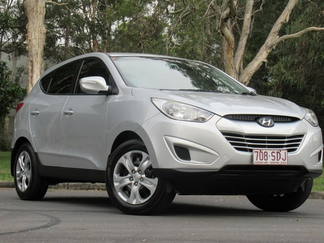 Used Hyundai ix35 LM MY11 Active, 2011 Hyundai ix35 LM MY11 Active Silver 5 Speed Manual Wagon