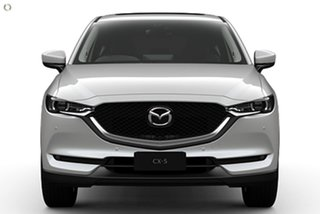 2021 Mazda CX-5 KF4WLA GT SKYACTIV-Drive i-ACTIV AWD White 6 Speed Sports Automatic Wagon.