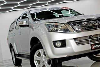 2015 Isuzu D-MAX TF MY15 LS-U HI-Ride (4x2) White 5 Speed Automatic Crew Cab Utility.