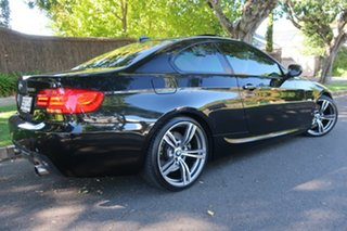 2011 BMW 3 Series E92 MY0911 335i D-CT M Sport Black 7 Speed Sports Automatic Dual Clutch Coupe.