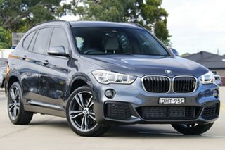 2016 BMW X1 F48 xDrive25i Steptronic AWD Grey 8 Speed Sports Automatic Wagon.