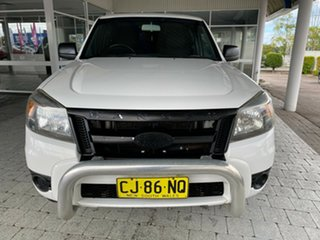2010 Ford Ranger XL - Hi-Rider White Automatic Cab Chassis - Dual Cab.