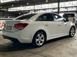 2012 Holden Cruze JH Series II MY12 SRi White 6 Speed Manual Sedan