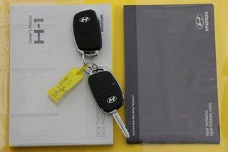 2015 Hyundai iMAX TQ MY13 Black 4 Speed Automatic Wagon
