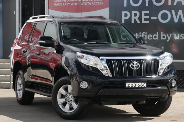 Pre-Owned Toyota Landcruiser Prado GDJ150R GXL Guildford, 2017 Toyota Landcruiser Prado GDJ150R GXL Ebony 6 Speed Automatic Wagon