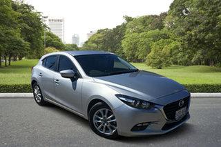 2018 Mazda 3 BN5478 Maxx SKYACTIV-Drive Sport Billet Silver 6 Speed Sports Automatic Hatchback.