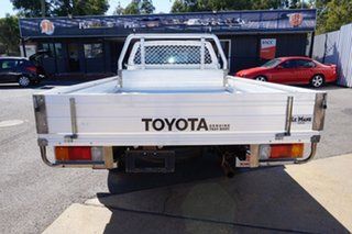 2007 Toyota Hilux TGN16R MY07 Workmate 4x2 Glacier White 5 Speed Manual Cab Chassis