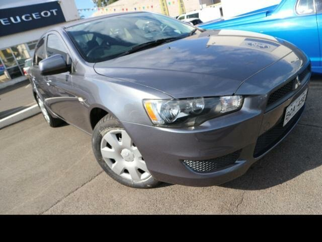 Used Mitsubishi Lancer CJ MY11 ES Sportback Kingswood, 2010 Mitsubishi Lancer CJ MY11 ES Sportback Grey 6 Speed CVT Auto Sequential Hatchback