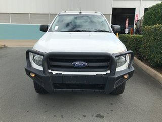 2015 Ford Ranger PX XL Cool White 6 speed Manual Cab Chassis