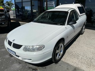 2002 Holden Commodore VX RX (4x4) White 4 Speed Automatic Utility