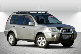 2007 Nissan X-Trail T30 II MY06 TI-L Silver 4 Speed Automatic Wagon.