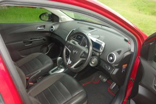 2014 Holden Barina TM MY14 RS Red 6 Speed Sports Automatic Hatchback