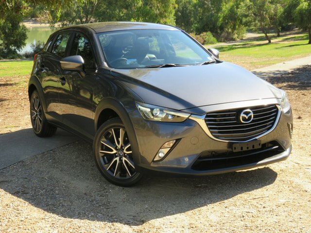 Used Mazda CX-3 DK2W7A sTouring SKYACTIV-Drive Morphett Vale, 2016 Mazda CX-3 DK2W7A sTouring SKYACTIV-Drive Grey 6 Speed Sports Automatic Wagon