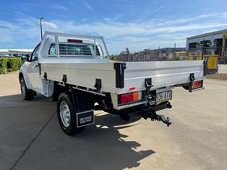2017 Isuzu D-MAX MY17 SX 4x2 High Ride White/180917 6 Speed Sports Automatic Cab Chassis